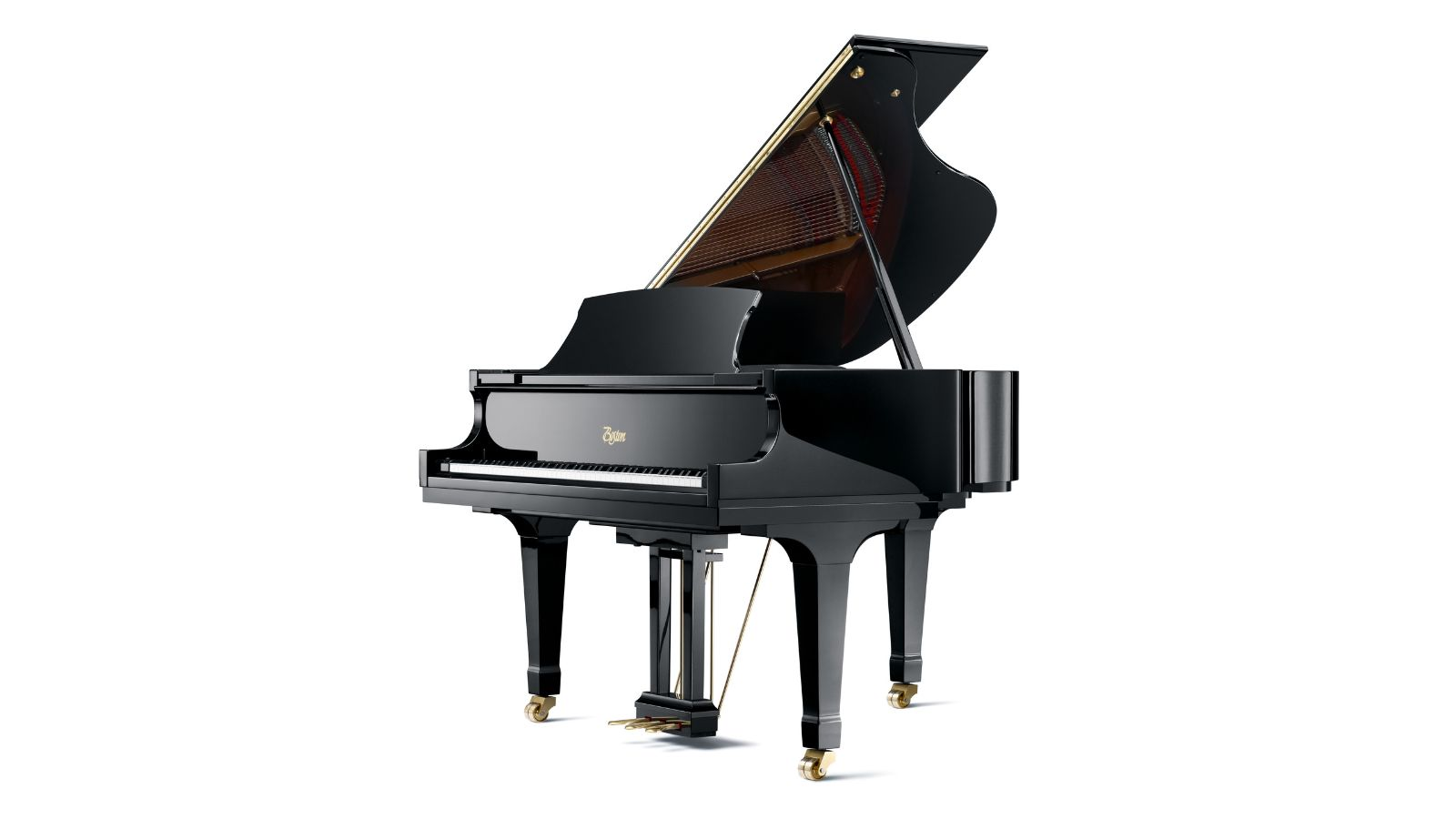 Boston grand gp 156 pe steinway sons for Small grand piano size