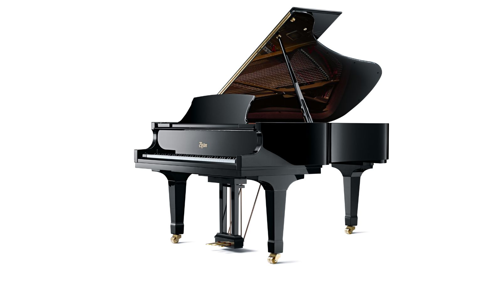 Boston grand gp 215 pe steinway sons for How big is a grand piano