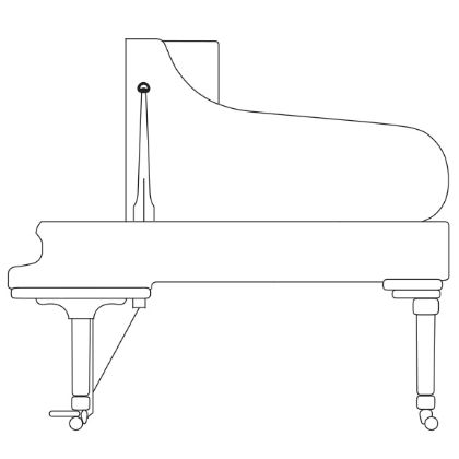Buy spirio steinway sons for Smallest piano size